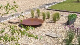 Garden design and build Sussex