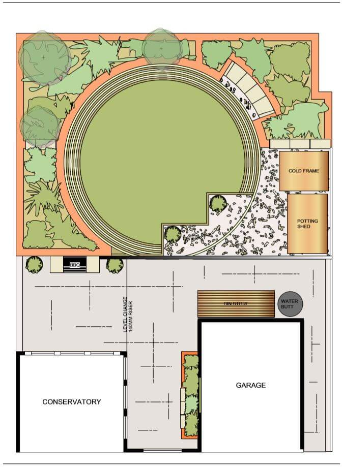 New Build Garden Plan