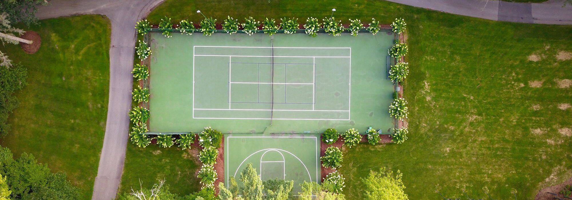 Swimming Pools And Tennis Courts Anna Helps Garden Design