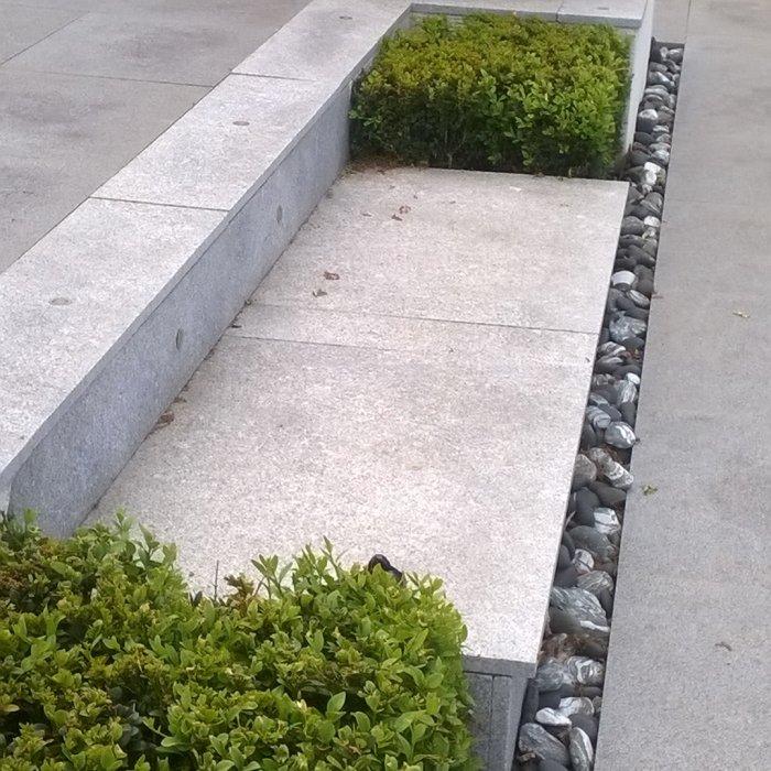 KOI POOL STEPS
